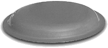 Rounded Flange Steel Display Bases